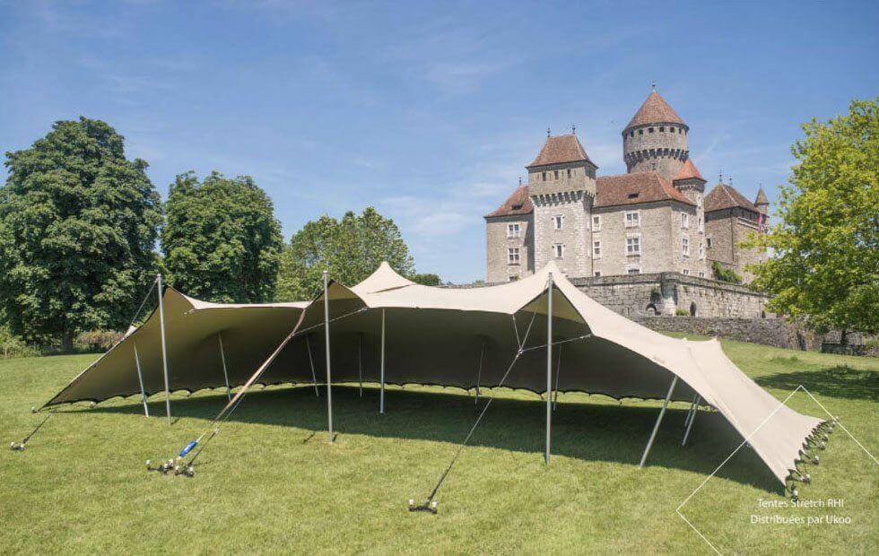 Location de tente nomade - configuration protegee